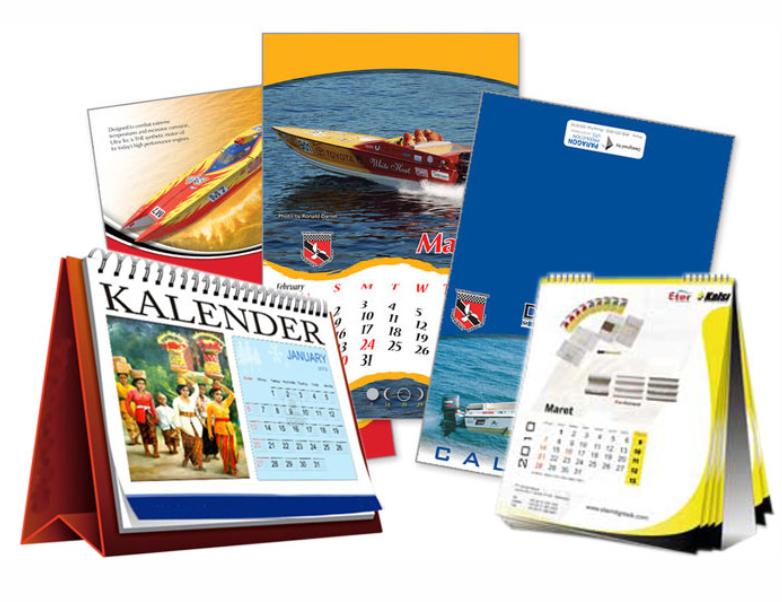 Cetak Kalender 2021, Percetakan Kalender