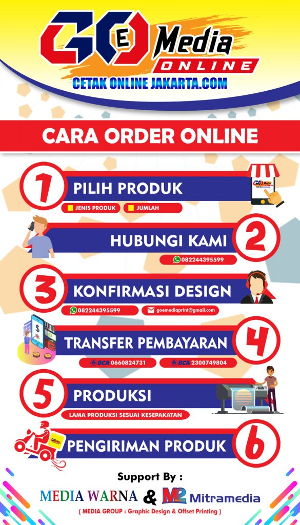 cetak online jakarta - Cetak Brosur Murah Bekasi