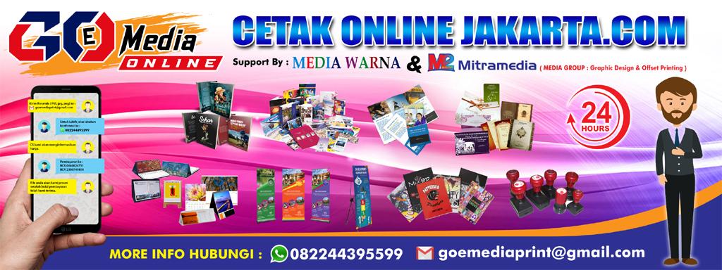 GOE Media banner - Cetak Online Jakarta - Galleri Percetakan Bekasi