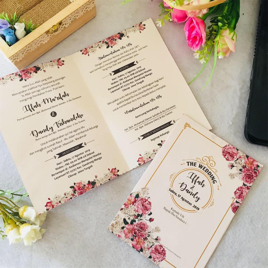 Cetak Undangan Pernikahan Online Jakarta